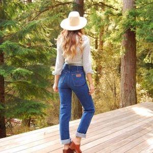 Wrangler Vintage High Waist Mon Jeans